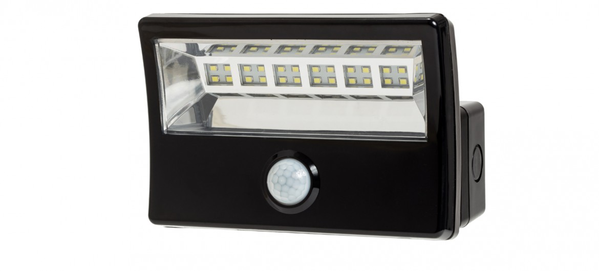LED PIR Fluter16bis36Watt